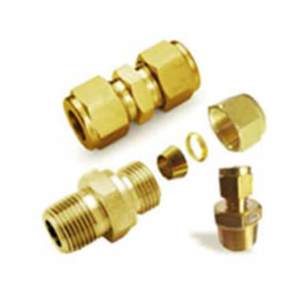 Cupro Nickel 90/10 Ferrule Fittings