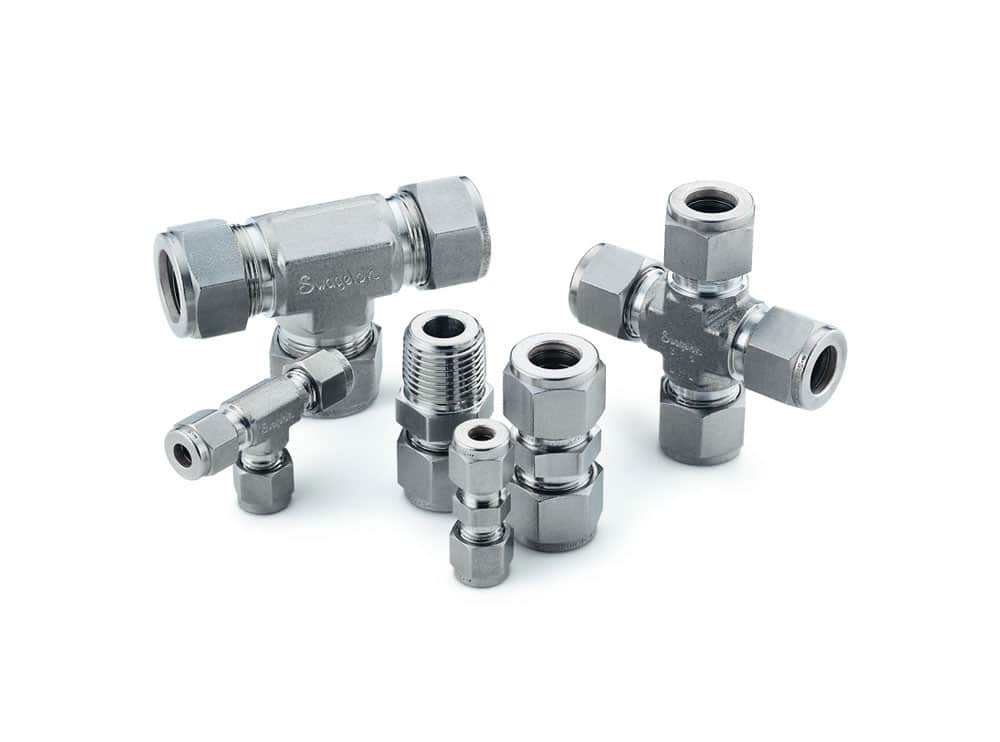 Duplex Steel UNS S31803 / S32205 Tube Fittings
