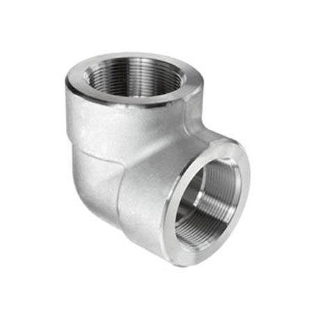 Super Duplex Steel UNS S32760 Forged Threaded Elbow
