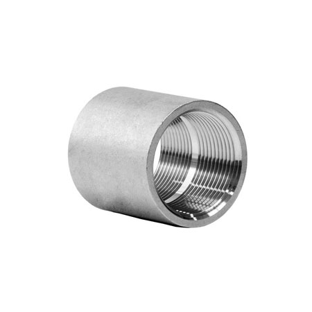 Super Duplex Steel Forged Threaded Coupling