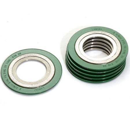 Spiral Wound Gasket With Inner Rings
