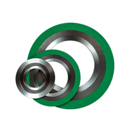 Spiral Wound Gasket With Outer Rings